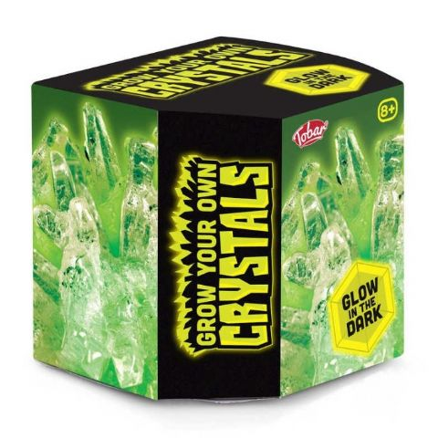Grow Your Own Glow In The Dark Crystals Tobar Arts & Crafts Growing Kit